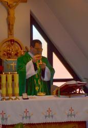 DSC_0492.JPG - Manželská duchovná obnova 18.-20.10.2013 v Zakopanom (Poľsko) pred prijatím charty