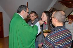 DSC_0495.JPG - Manželská duchovná obnova 18.-20.10.2013 v Zakopanom (Poľsko) pred prijatím charty
