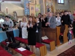 śpiewamy pieśń Oto jest dzień ....jpg - Prijatie Charty 1.10.2011