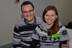 DSC_0561.JPG - Vzájomné manželské obdarovanie sa vlastnoručne namaľovaným tričkom